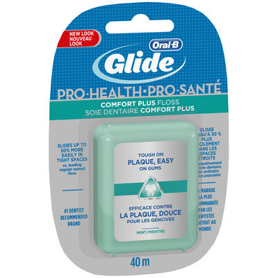 Comfort Plus Oral-B Glide Pro-Health Comfort Plus Mint Floss 40 M