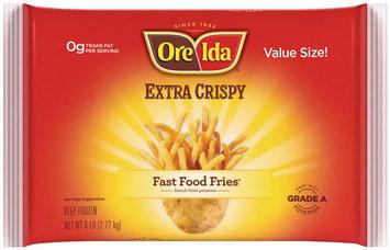 Ore-Ida Fast Food Fries Extra Crispy French Fried Potatoes 6 Lb Bag