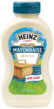 HEINZ  Real Mayonnaise 11.5 FL OZ SQUEEZE BOTTLE