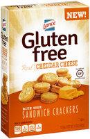 Lance® Gluten Free Cheddar Cheese Bite Size Sandwich Crackers 5 oz. Box
