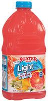 Stater Bros. Light Ruby Red Grapefruit Juice Cocktail 2 Qt Plastic Bottle