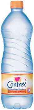 Contrex White Peach Apricot Natural Mineral Water 1L Plastic Bottle