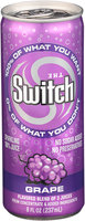 The Switch® Grape Sparkling 100% Juice 8 fl. oz. Pull-Top Can