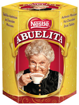Nestlé ABUELITA 6 Tab Authentic Mexican Hot Chocolate Drink Mix,12 - 19 oz Boxes