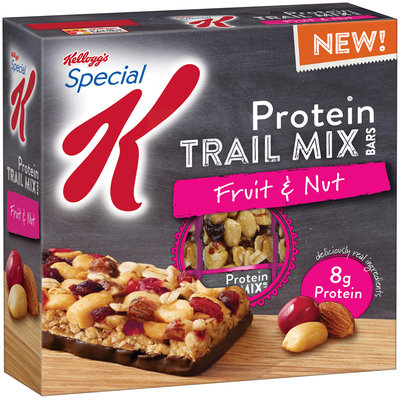 Special K® Kellogg Protein Fruit & Nut Trail Mix Bars
