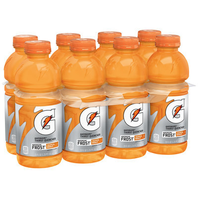 Gatorade® G® Series Perform Frost® Tropical Mango Sports Drink 8-20 fl. oz. Bottles