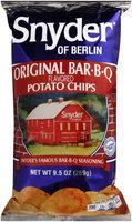 Snyder of Berlin® Original Bar.B.Q. Flavored Potato Chips 9.5 oz. Bag