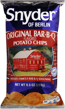 Snyder of Berlin® Original Bar.B.Q. Flavored Potato Chips 9.5 oz. Bag