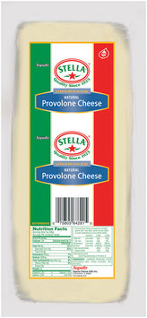 Stella® Unsmoked Natural Provolone Cheese Loaf