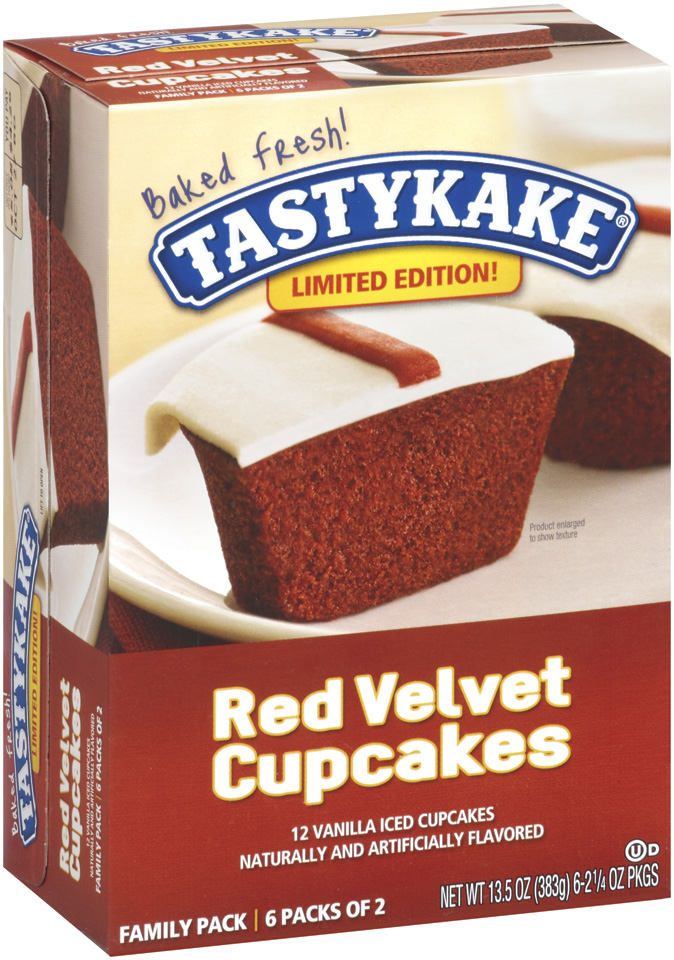 TastyKake® Red Velvet Cupcakes