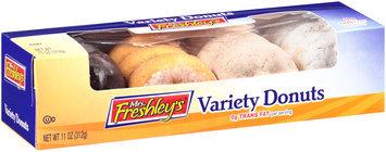 Mrs. Freshley's® Variety Donuts 11 oz. Box