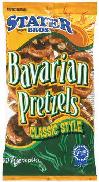 Stater Bros. Bavarian Classic Style Pretzels 10 Oz Bag