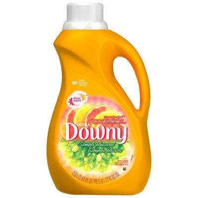 Downy® Ultra Simple Pleasures Citrus Spice Glow Liquid Fabric Softener 77 fl. oz. Plastic Jug