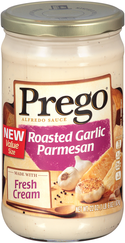 Prego® Roasted Garlic Parmesan Alfredo Sauce 22 oz. Jar