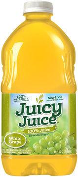 Juicy Juice® White Grape No Added Sugar 100% Juice 64 fl. oz. Bottle