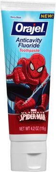 Arm & Hammer™ Kid's Spinbrush™ Ultimate Spider-Man Powered Toothbrush & Orajel™ Toothpaste Set
