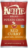 Kettle Brand® Red Curry Potato Chips 8.5 oz. Bag