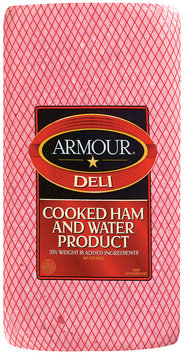 Armour Cooked Ham & Water Product Deli - Ham