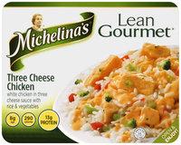 Michelina's® Lean Gourmet® Three Cheese Chicken 8 oz. Tray