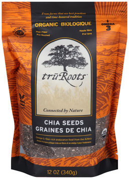 TruRoots™ Organic Chia Seeds 12 oz. Bag--TruRoots™ Biologique Graines de Chia Sac de 340 g