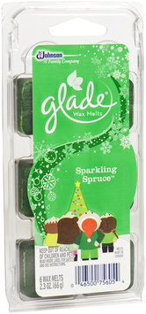 Glade® Holiday Collection Wax Melts Sparkling Spruce™ 6 ct Tray