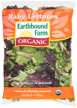 Earthbound Farm® Organic Baby Lettuces 5 oz. Bag