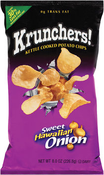 Krunchers!® Kettle Cooked Potato Chips Sweet Hawaiian Onion 8 oz.