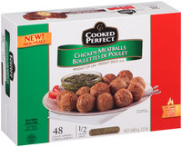 Cooked Perfect® Chicken Meatballs 48 ct. Box
