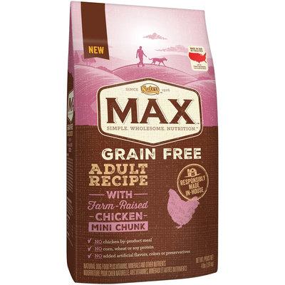 Nutro™ Max™ Grain Free Adult Recipe with Farm-Raised Chicken Mini Chunk Dog Food 4 lb. Bag