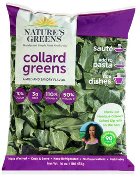 Nature's Greens® Collard Greens 16 oz. Bag