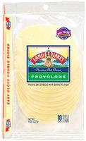 Land O'Lakes® Deli Provolone Shingle Pack Slices Cheese 8 Oz Peg