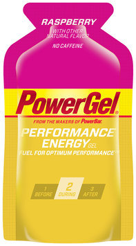 PowerBar PowerGel Performance Energy Raspberry