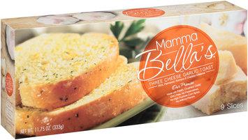Mamma Bella's® Three Cheese Garlic Toast