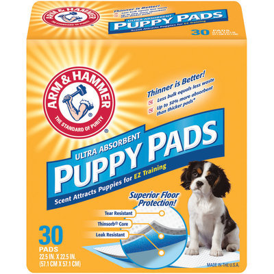 ARM & HAMMER™ Ultra Absorbmment Puppy Pads