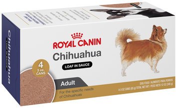 Royal Canin® Breed Health Nutrition® Adult Chihuahua Loaf in Sauce Wet Dog Food 4-3 oz. Cans
