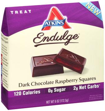 Atkins® Endulge® Treat Dark Chocolate Raspberry Squares 6 oz. Box