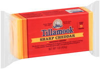 Tillamook® Sharp Cheddar Cheese Brick