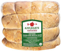 Applegate Naturals® Uncured Hand-Tied Maple Ham