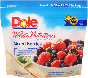 Dole Wildly Nutritious Signature Blends Mixed Berries