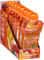 Happy Baby® Organics Apples, Pumpkin & Carrots Baby Food 8-3.5 oz. Pouch