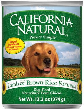 California Natural® Lamb & Brown Rice Formula Wet Dog Food