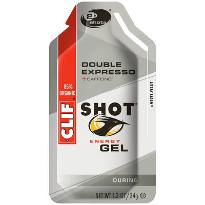 CLIF Shot® Double Expresso Energy Gel 1.2 oz. Packet