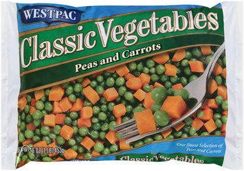 Westpac® Classic Vegetables Peas and Carrots 16 oz. Bag