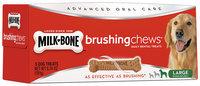 Milk-Bone Brushing Chews Daily Dental Treats - Large - 6.74 ounce - 5 Bones