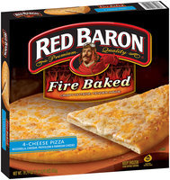 Red Baron® Fire Baked 4-Cheese Pizza 19.79 oz. Box