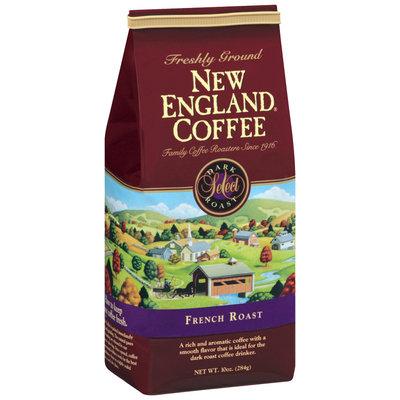New England Coffee Freshly Ground 100% Arabica Coffee French Roast 10 Oz Bag