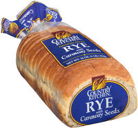 Country Kitchen® Rye Bread with Caraway Seeds 16 oz. Bag