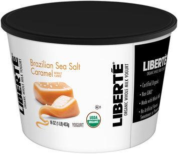 Liberté® Brazilian Sea Salt Caramel Organic Whole Milk Yogurt