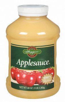 Haggen  Applesauce 48 Oz Plastic Jar