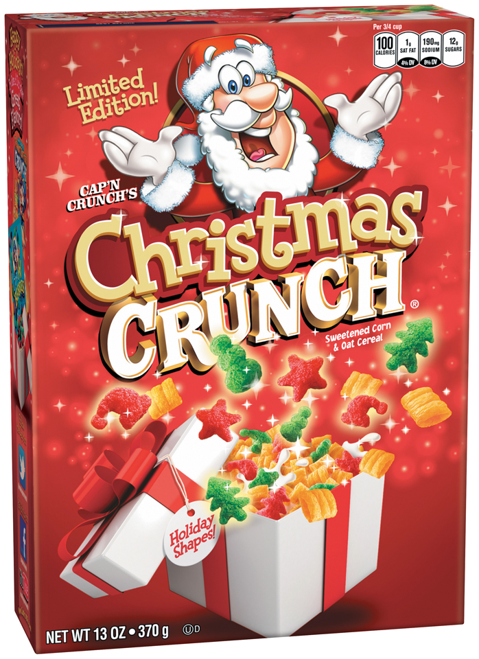 Cap'n Crunch's Christmas Crunch® Cereal 13 oz. Box